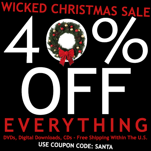 Wicked Christmas Sale