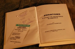 Phantoms Book