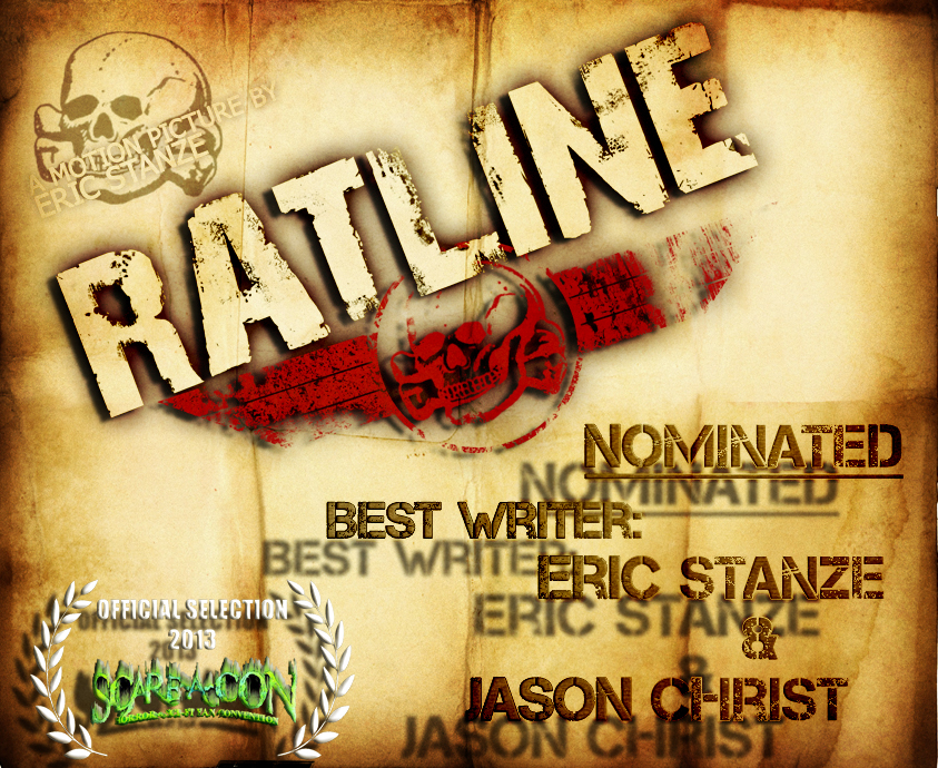 RATLINE - Best Writer nomination